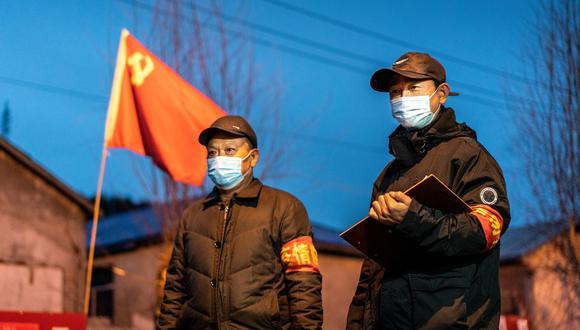 Las autoridades decidieron bloquear la ciudad de Harbin luego de que surgiera un rebrote de la enfermedad. Foto: China OUT / AFP / STR