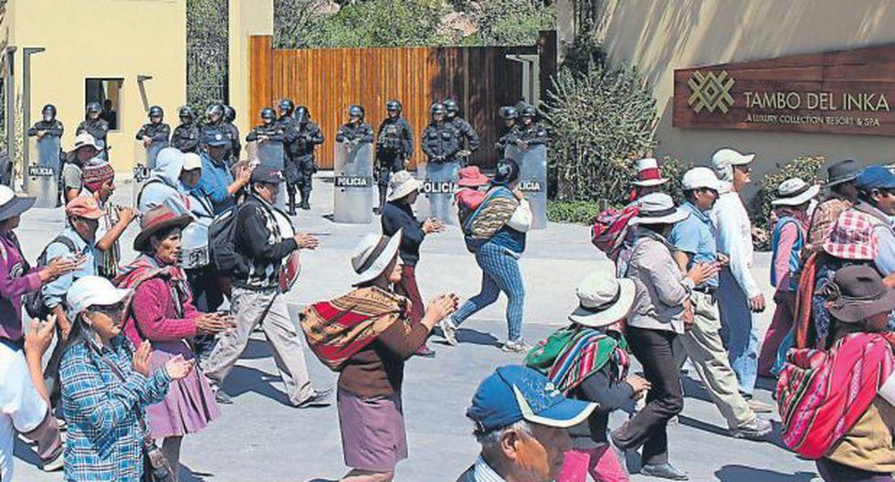 Cusco: instalaron mesa de diálogo tras paro en Urubamba