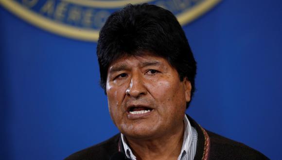 Evo Morales convoca a nuevas elecciones generales en Bolivia tras informe de la OEA y descarta renunciar. (REUTERS/Carlos Garcia Rawlins).