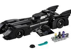 Lego celebra los 30 años del Batman de Tim Burton con sorprendente versión del batimóvil   FOTOS