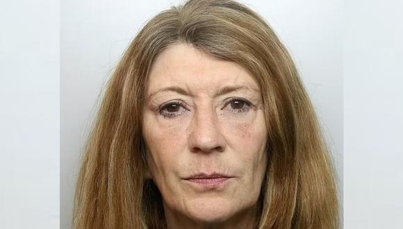 Corinna Baines, de 59 años, cumplirá un mínimo de 12 años encarcelada. (Foto: Policía de Cheshire)