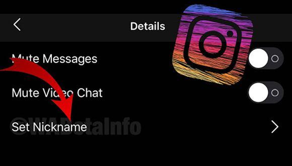 ¿Cómo es que puedes cambiar el apodo de tus contactos de Instagram? Así puedes hacerlo. (Foto: Instagram)