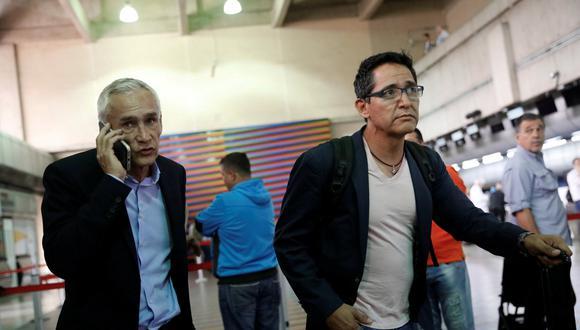 """Jorge Ramos antes de ser deportado de Venezuela por Nicolás Maduro: """"Nos han robado nuestro trabajo"""". Foto: Reuters"""