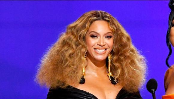 Beyoncé se convirtió en la artista con más premios Grammy de la historia con 28 galardones. (Foto: AFP)
