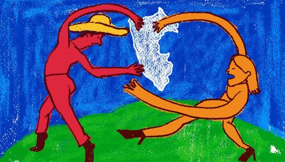 """""""Ser un radical de centro me parece la única opción viable."""" (Ilustración: Giovanni Tazza)"""