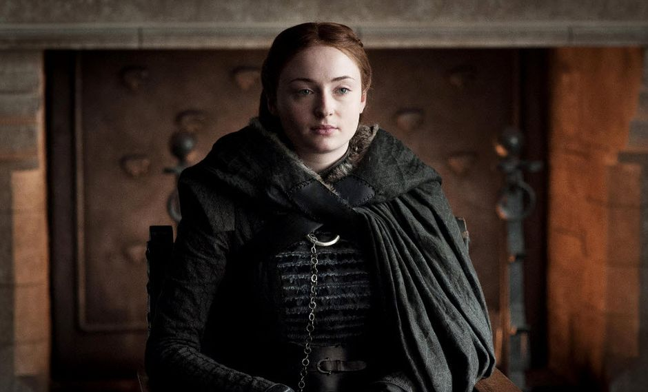 "Sophie Turner, tal y como apareció en la séptima temporada de ""Game of Thrones"". (Foto: HBO)"