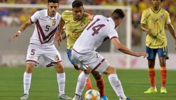 Venezuela buscará ante Colombia su primera victoria en la Copa América. (Foto: AFP)