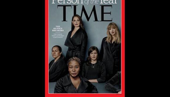 Movimiento #Me Too es Persona del Año de revista Time.