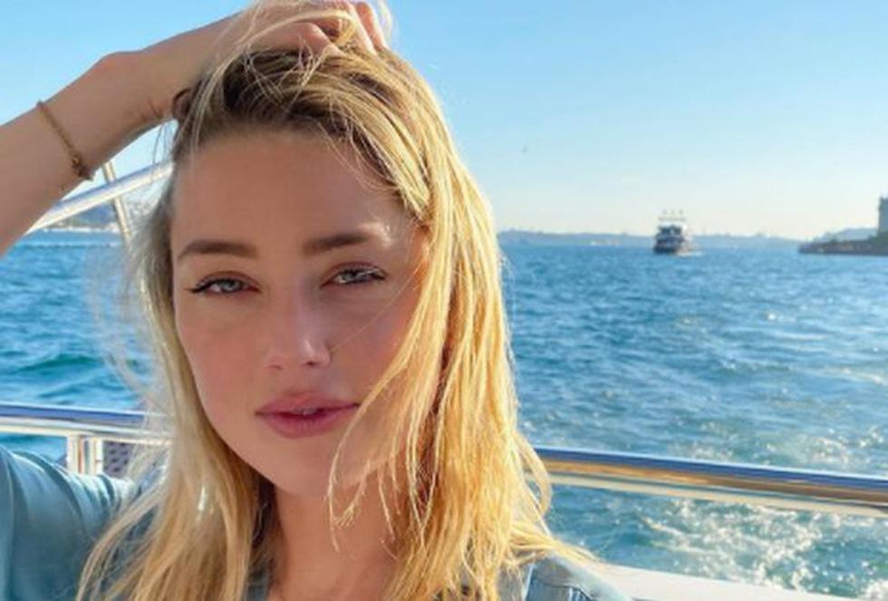 """Amber Heard encarnó a Mera en """"Aquaman 2″. (Foto: @amberheard)"""