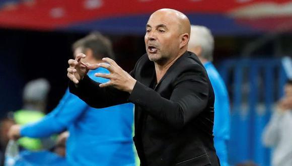 Jorge Sampaoli, entrenador de la selección argentina. (Foto: EFE)