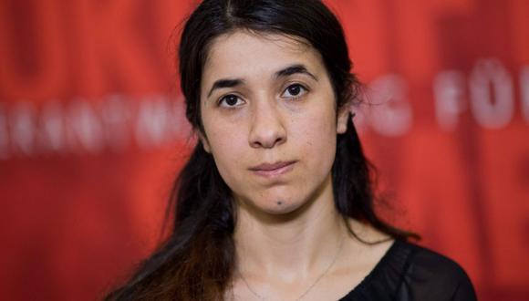 """Nadia Murad: el Nobel honra """"a todas las mujeres"""" víctimas de violencia sexual.  (Foto:AFP)"""