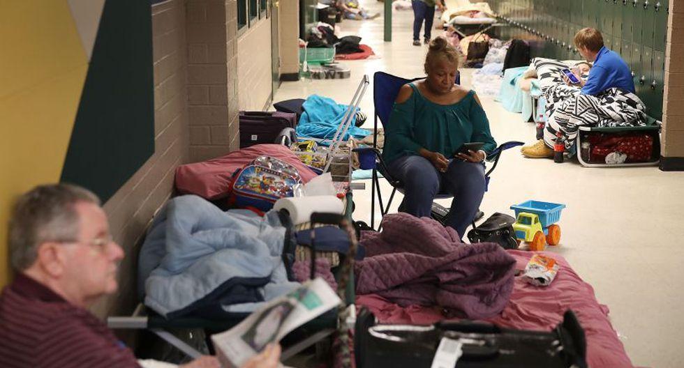 Cinco estados declararon estado de emergencia: Carolina del Norte, Carolina del Sur, Georgia, Maryland y Virgina, además de la capital Washington. | Foto: AFP
