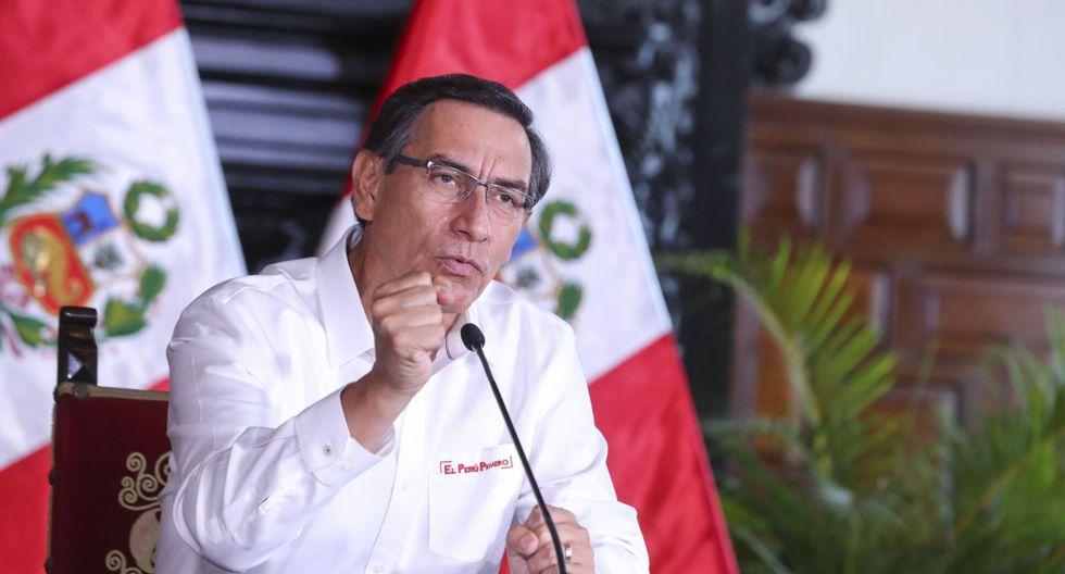 Martín Vizcarra amplió el estado de emergencia 13 días más y anunció la ampliación del número de beneficiarios del bono de S/ 380 (Foto: AFP)