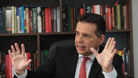 Omar Chehade  intentará llegar por segunda vez al Congreso. Es el cabeza de la lista del partido de Acuña.  (Foto: Rolly Reyna/ El Comercio)