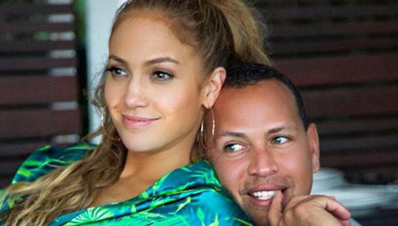 Álex Rodríguez y Jennifer López. Ambos cumplirán años la próxima semana. (Foto: Instagram)