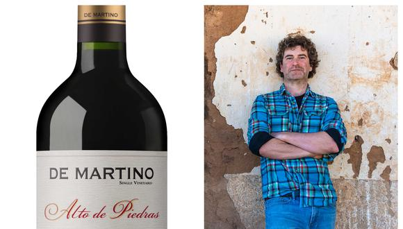 Marco Antonio De Martino, gerente de producción de viña De Martino