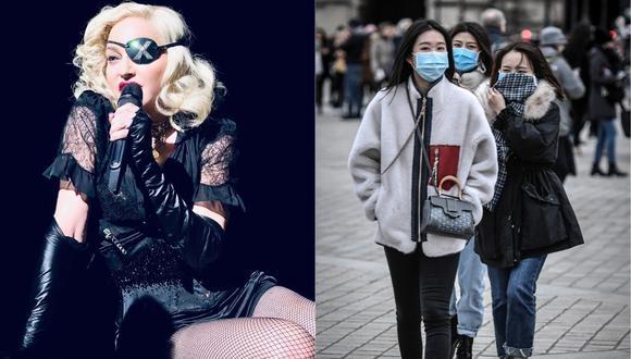 Madonna anunció la cancelación de las últimas dos fechas de su gira por Francia. (Foto: Instagram/AFP)