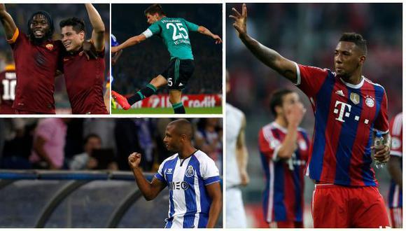 VOTA por el mejor gol del segundo día en la Champions League