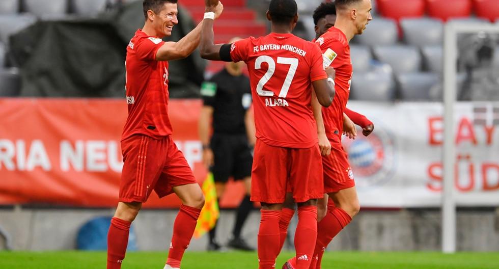 Bayern Múnich vapuleó al Eintracht Frankfurt y estiró su ventaja en lo más alto de la Bundesliga   Foto: AP/EFE/AFP/Reuters