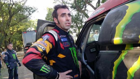 Nani Roma lamentó que el Rally Dakar haya acabado para él