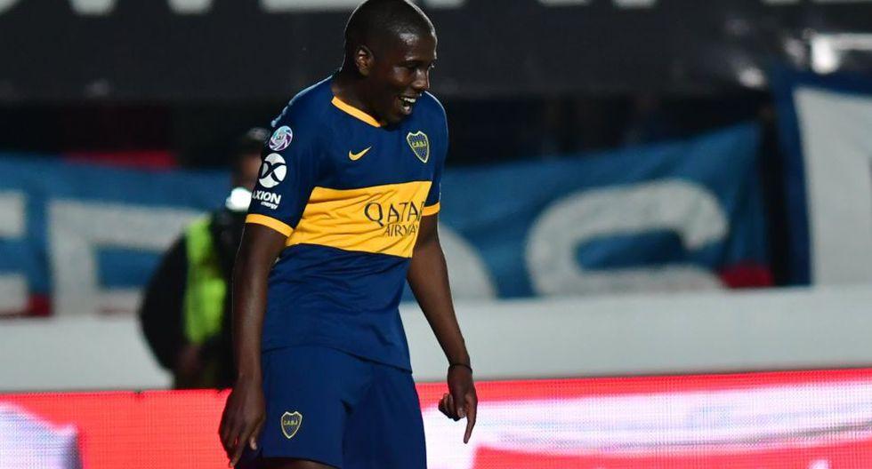 Boca Juniors vs. San Lorenzo: venezolano Jan Hurtado marcó el 2-0 y silenció el Nuevo Gasómetro   VIDEO. (Foto: AFP)