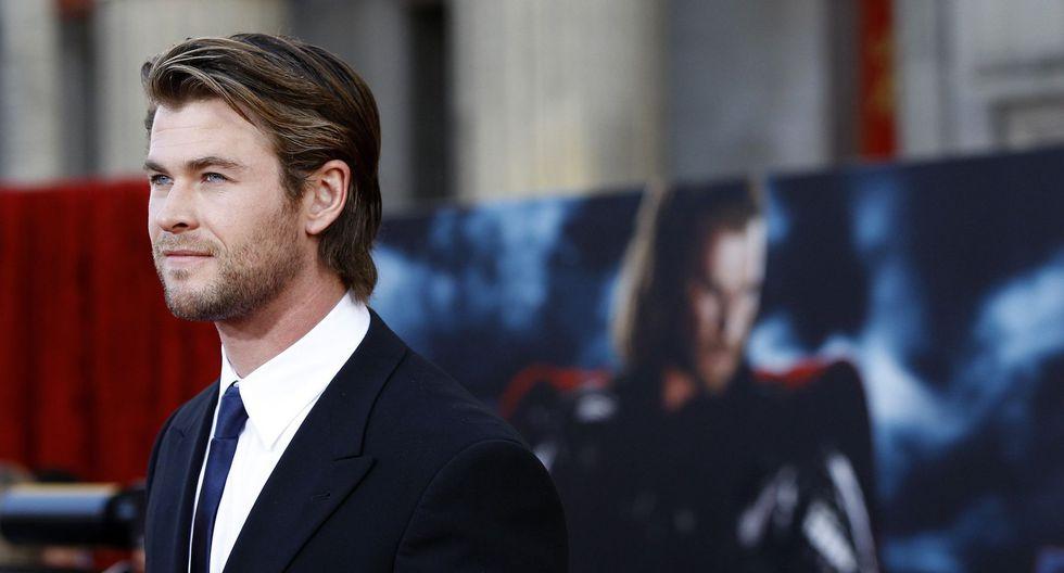 """Chris Hemsworth interpreta a Thor en las películas de Marvel. Esta semana se estrena """"Avengers: Endgame"""", la nueva cinta del UCM. (Foto: Agencia/ Difusión)"""