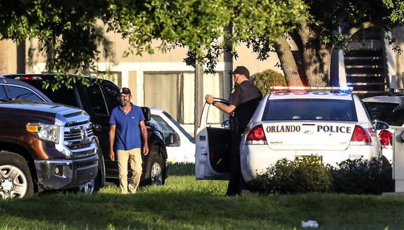 Orlando: Hombre atrincherado 21 horas mata a cuatro niños y se suicida. (AP).