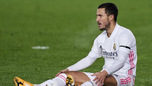 Eden Hazard continúa con su recuperación y apunta al derbi.