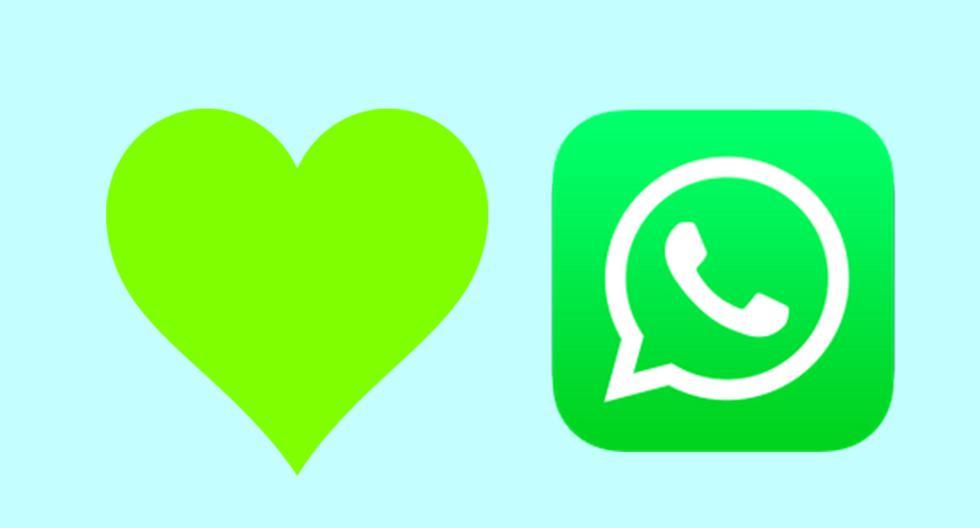 ¿Sabes realmente qué significa el corazón de color verde de WhatsApp? (Foto: Emojipedia)
