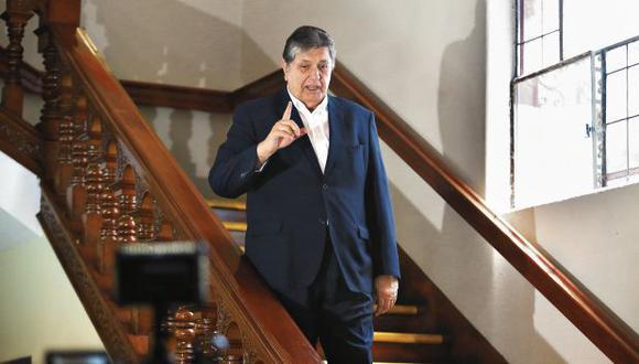 García es investigado por el caso del metro de Lima por el presunto delito de tráfico de influencias. (Foto: Jesús Saucedo/Archivo El Comercio)