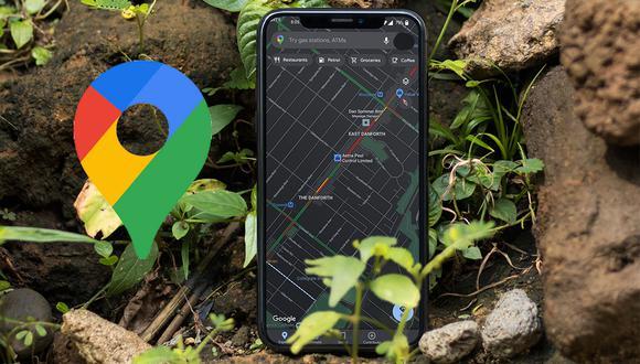 """¡De esta manera podrás activar el """"modo oscuro de Google Maps! hazlo ahora mismo. (Foto: Mockup)"""