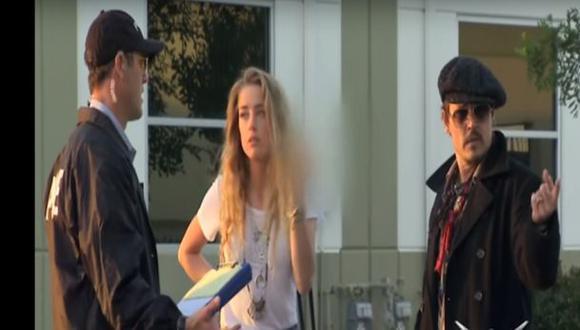 Johnny Depp le juega broma pesada a su esposa Amber Heard