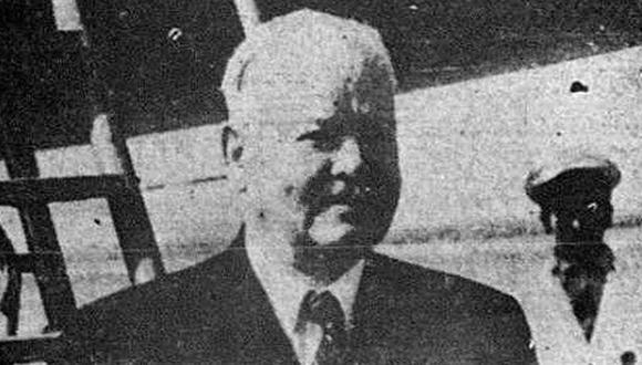 El 1 de junio de 1946, Herbert Hoover llegó al aeropuerto de Limatambo a bordo de un avión de la Fuerza Aérea de los Estados Unidos. (Foto: GEC Archivo Histórico)