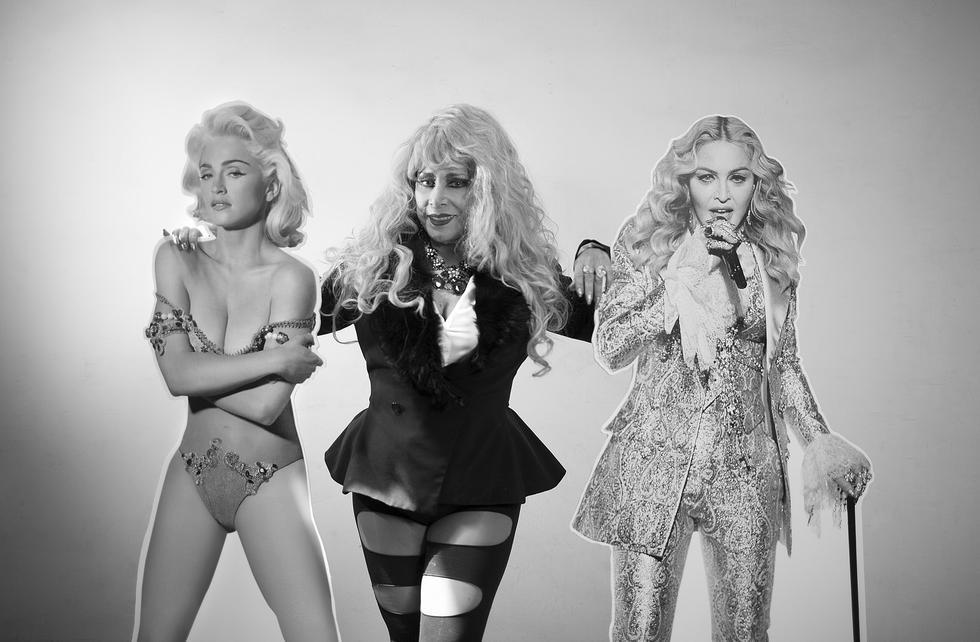 Madonna y Monique Pardo. La diva peruana algo tiene que decir.