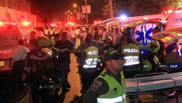 Colombia: incendio en cárcel deja diez muertos y 48 heridos