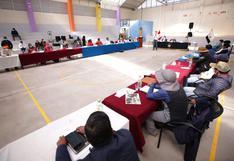 Cusco: acuerdan transferencia de S/44 millones del Convenio Marco para Espinar mediante entrega de vales
