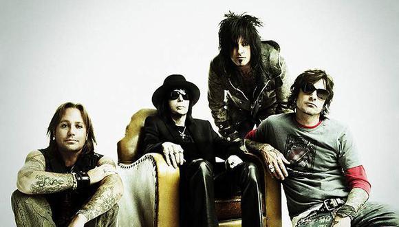 Mötley Crüe anunció que saldrá de gira por última vez
