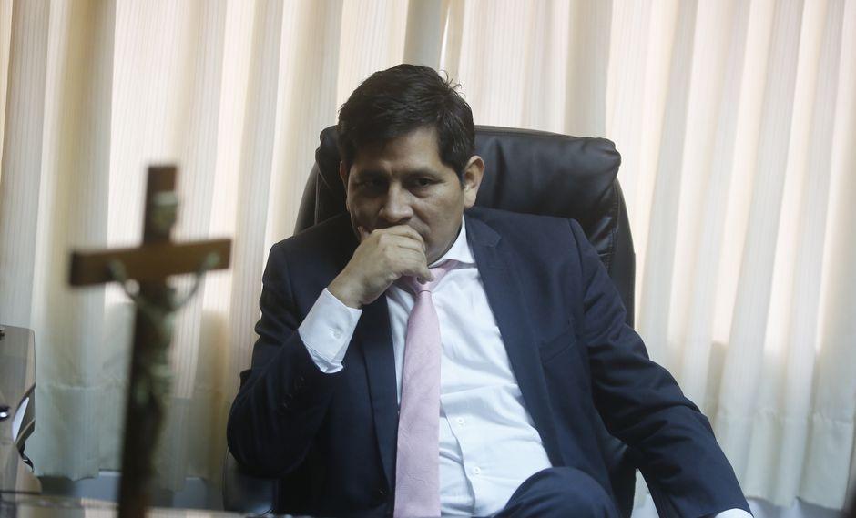 El fiscal Abel Concha Calla cuestionó que se le implique en las investigaciones por declaraciones de testigos. (Foto: GEC)