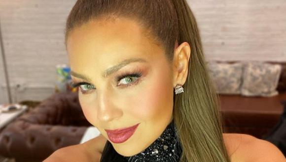 Thalía reveló que una de sus primeras canciones fue vetada de la radio. (Foto: @thalia)