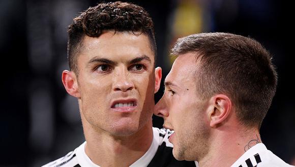 Cristiano Ronaldo hizo un gesto obsceno tras meterle 3 goles al Atlético Madrid que podría generarle un castigo. (Foto: Reuters)