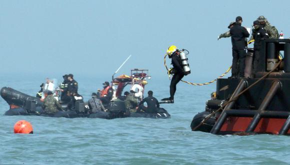 Naufragio del Sewol: Dos de las víctimas ataron sus salvavidas