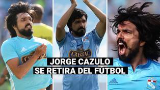 Sporting Cristal: Jorge Cazulo se retira del fútbol profesional a sus 38 años