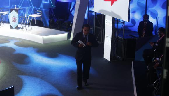 Vega decidió retirarse luego de su primera intervención. (Mario Zapata Nieto / @photo.gec)