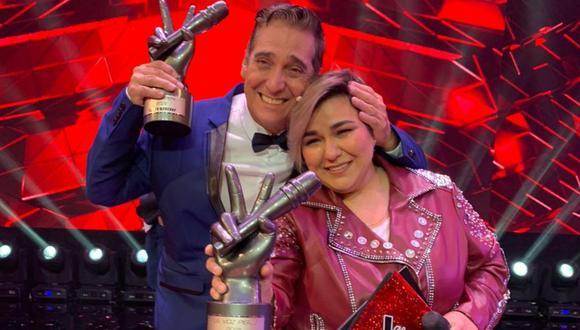 La cantante iquiteña no dudó en dirigirse a su coach para darle las gracias. (Foto: Latina)