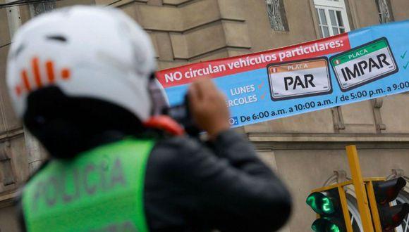 El plan Pico y placa es una medida de restricción obligatoria en el área urbana dirigida a vehículos privados en horarios 'pico'. (Foto: Municipalidad de Lima)
