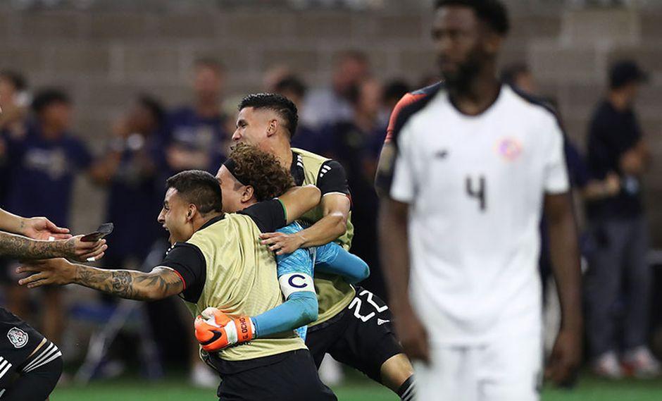 México logró una agónica clasificación a semifinales tras vencer 5-4 a Costa Rica en penales.