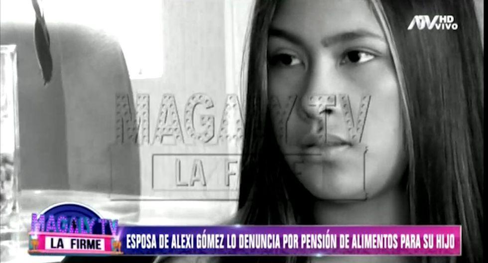 """Esposa indica que futbolista tiene una nueva pareja y """"se ha desentendido por completo de su hijo"""".  (Foto: Captura de pantalla)"""