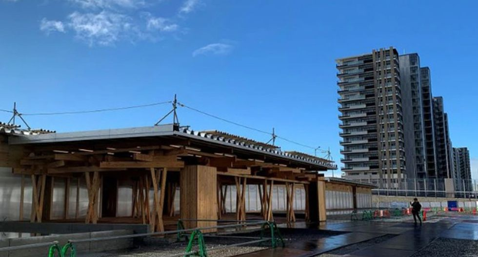La plaza de la Villa Olímpica contará con cafeterías y tiendas para los atletas, además de una sala de prensa. (Foto: Agencias)