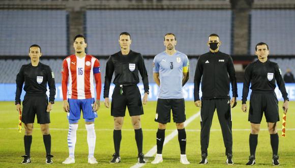 Uruguay y Paraguay igualaron sin goles en la fecha 7 de las Eliminatorias al Mundial Qatar 2022. (Foto: REUTERS)