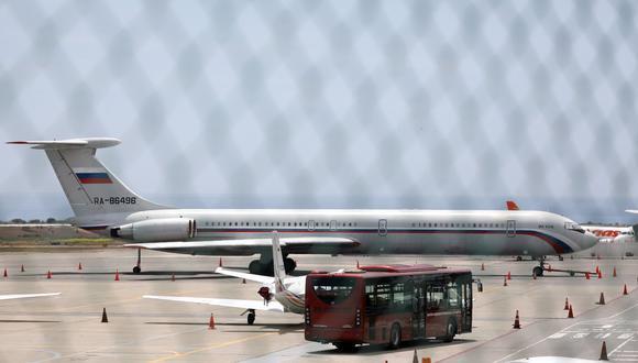 Rusia dice que técnicos llegan en un avión a Venezuela para mantenimiento de equipos militares. (Reuters).